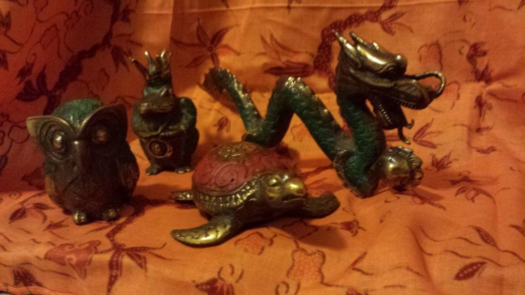 Handmade figurines