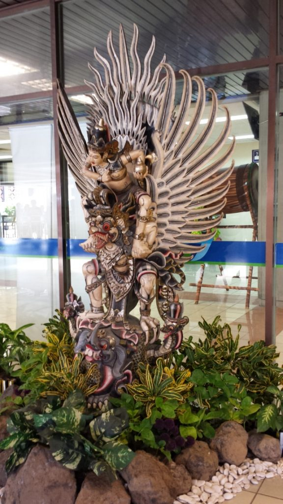 Statue at Bali Airport