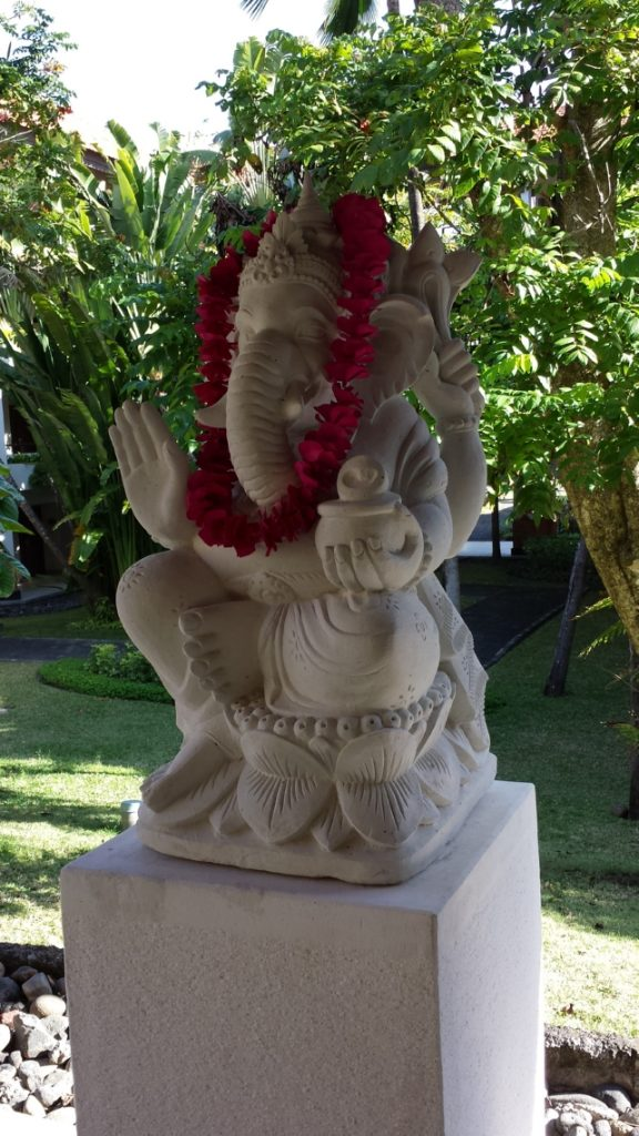 Statue of Ganesha at the Grand Hyatt Bali