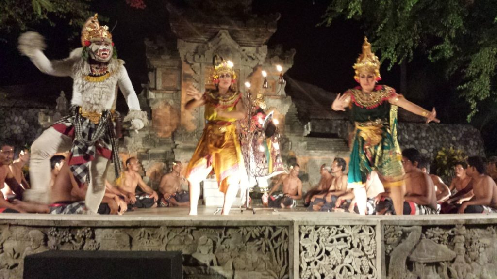 Balinese Dancers at Grand Hyatt