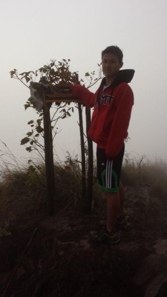 Tyler on Mt Batur