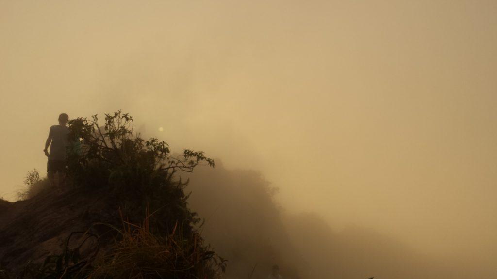 Morning Mist Mt Batur