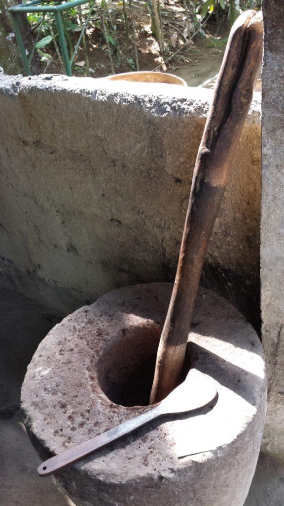 Coffee grinder at Coffee Plantation