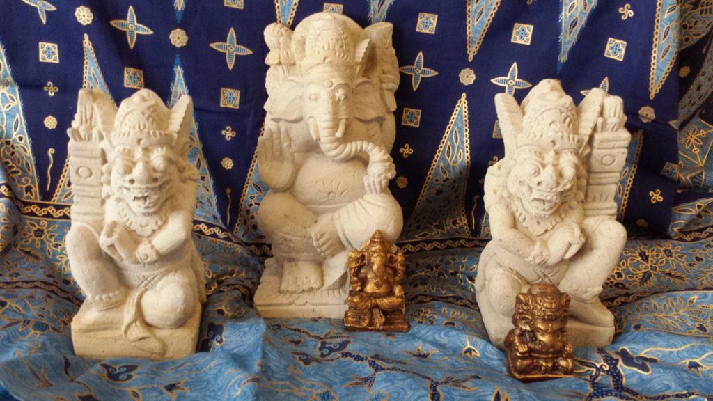 Statues by Mr. Sunadi