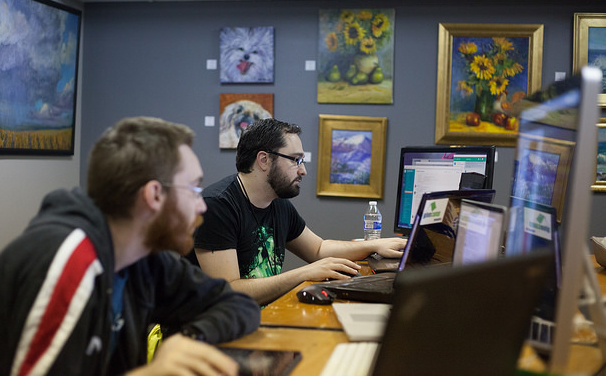 Volunteers develop software for non-profits at Give Camp Memphis 2016 - Photo by Brad Montgomery